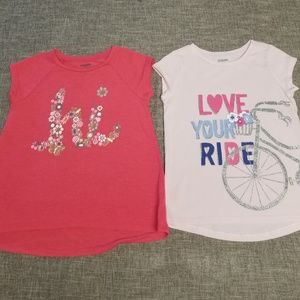 Gymboree girls t shirts size 4